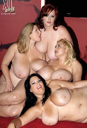 Big Lesbian Tit Sucking